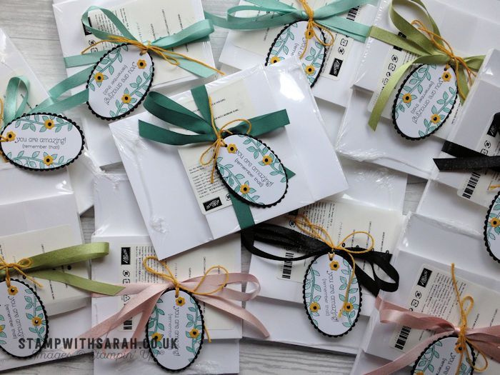 Strawberry Stampers Team Gifts for August 2017
