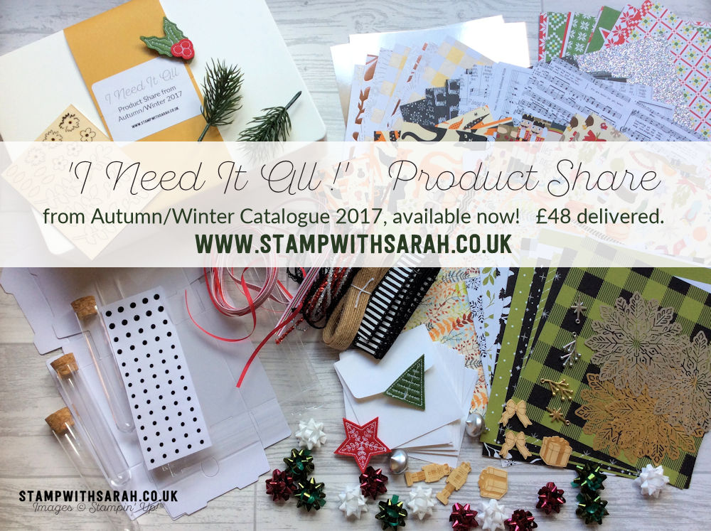 I NEED IT ALL! Product Share from Autumn/Winter Catalogue 2017