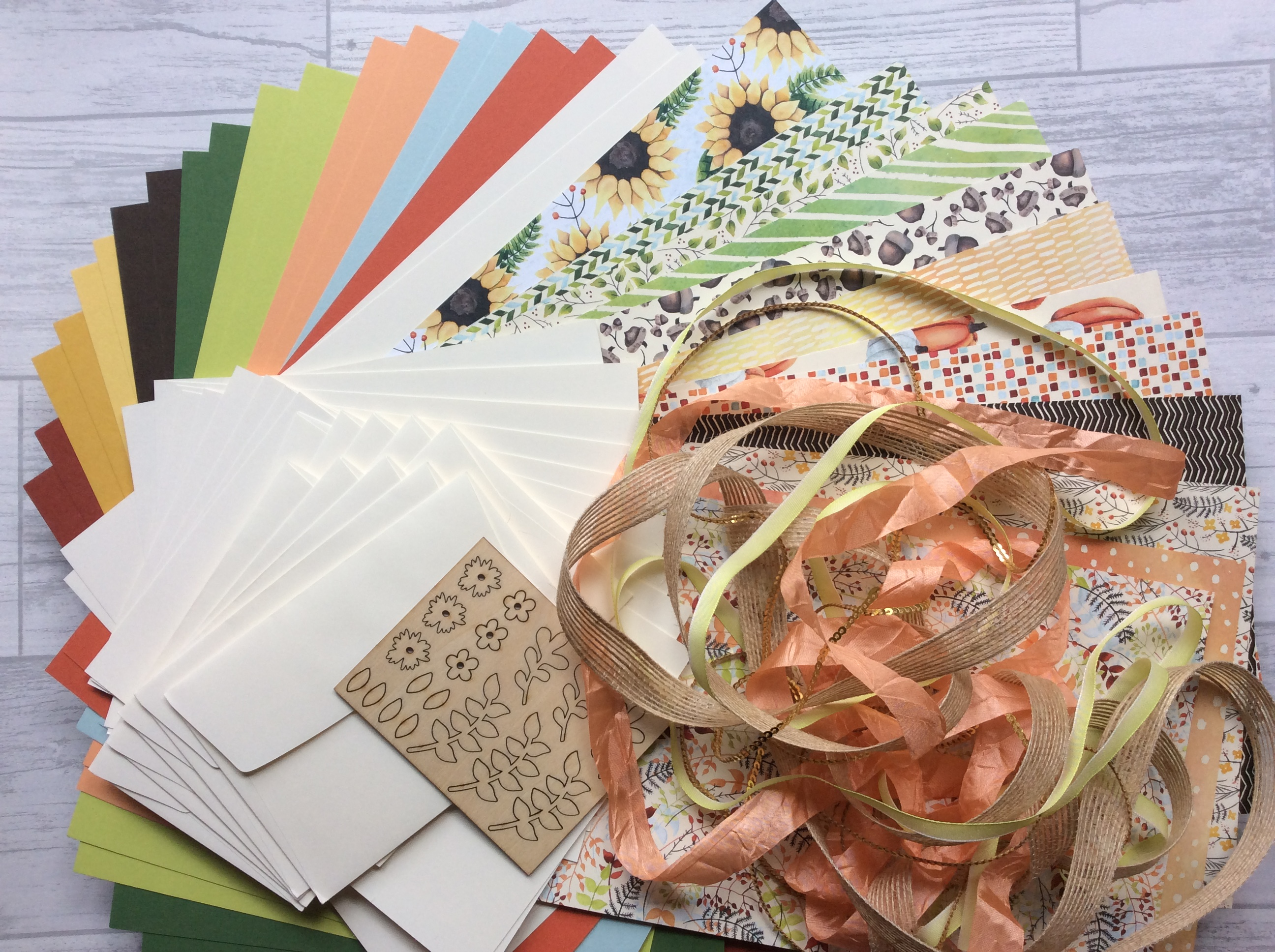 NEW Painted Autumn Craft Box available now!