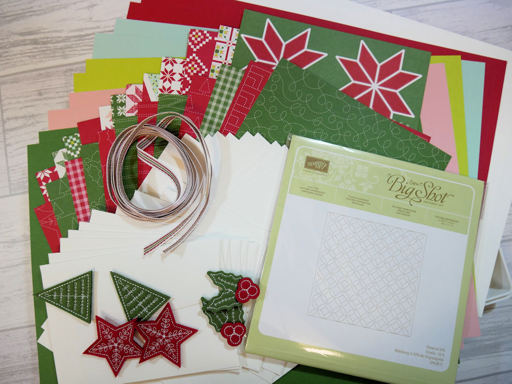 NEW Quilted Christmas Craft Box available now!