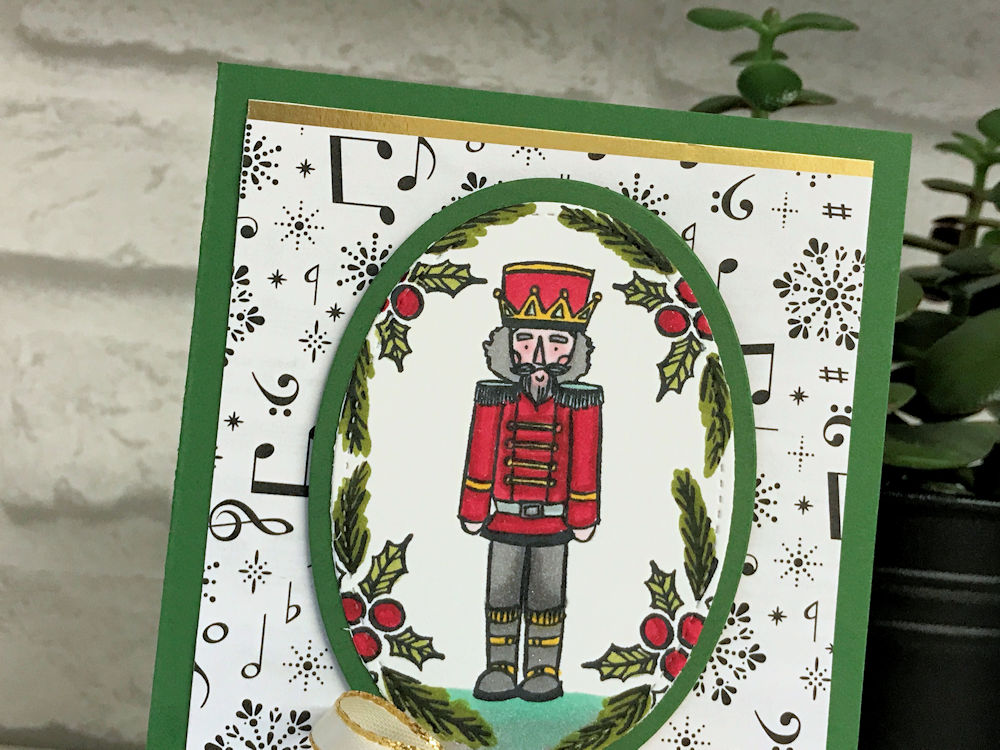Making a start on Christmas cards with the Sugarplum Dreams stamp set from Stampin' Up!