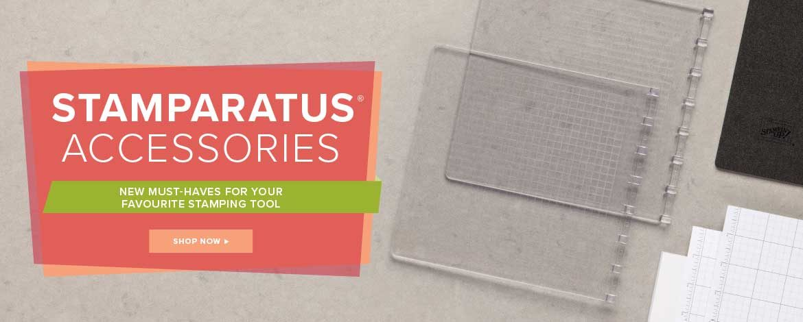 New Stampin' Up! UK Stamparatus products now out!