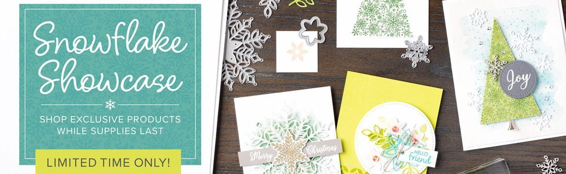 Stampin' Up! UK Snowflake Showcase Available November 2018 only!