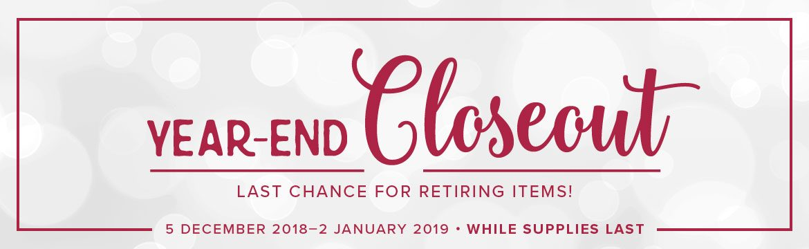 Stampin' Up! UK Year-End Closeout