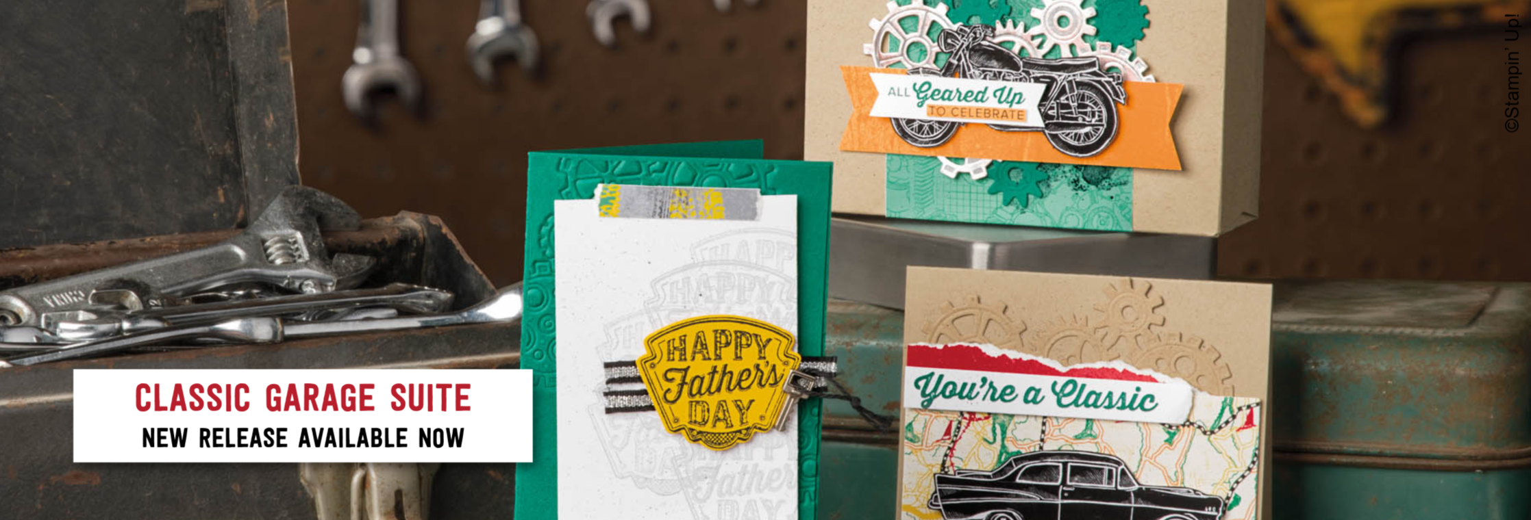 Classic Garage Suite from Stampin' Up! - New release for 2019!