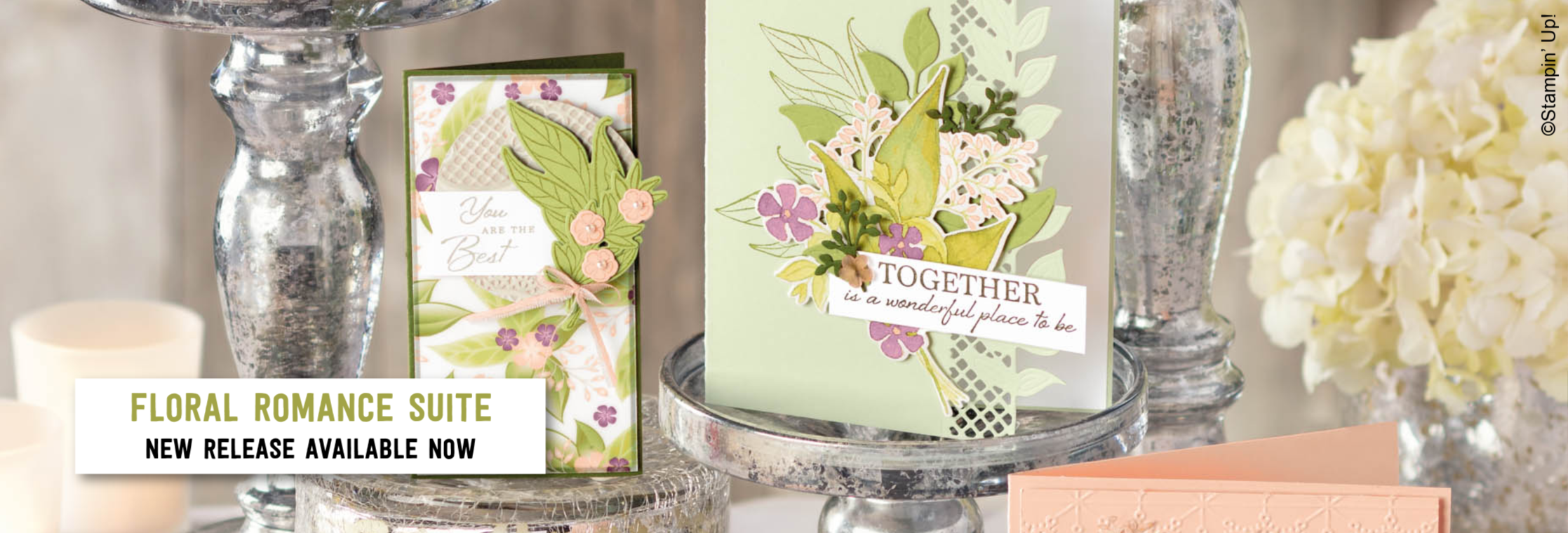 Floral Romance Suite from Stampin' Up! - New release for 2019!