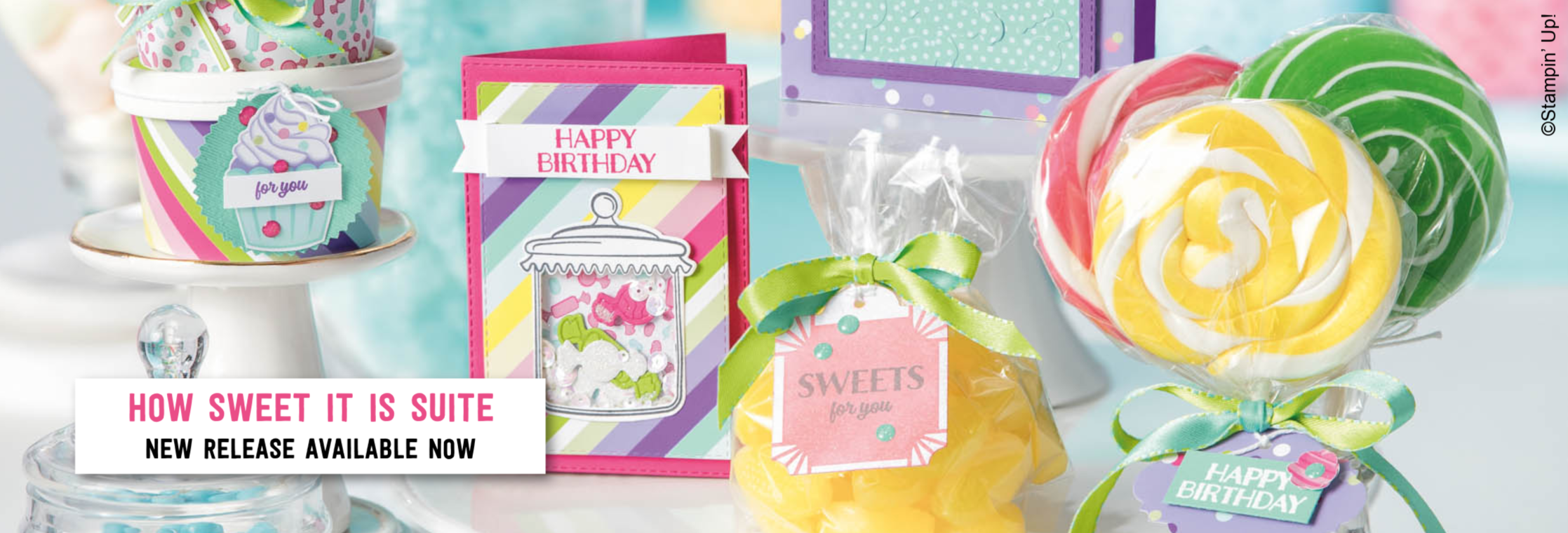 How Sweet It Is Suite from Stampin' Up! - New release for 2019!