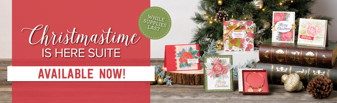 Stampin Up Christmastime is here suite
