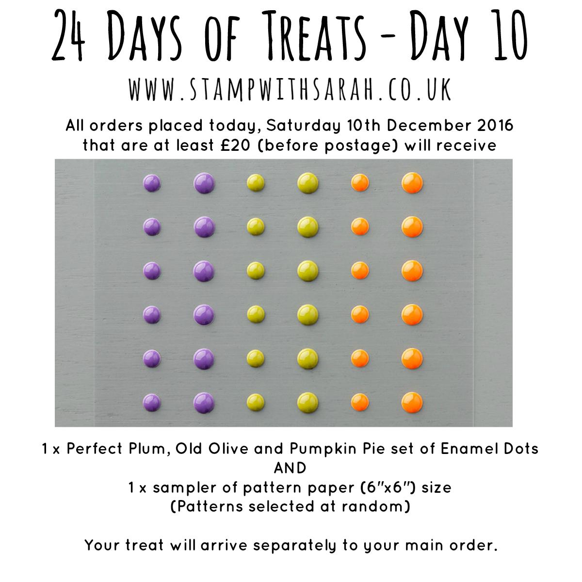 December Giveaway: Day 10 of 24 Days of Treats