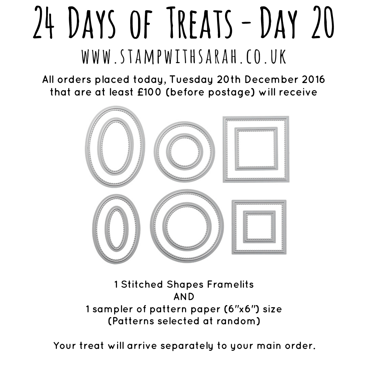 December Giveaway: Day 20 of 24 Days of Treats