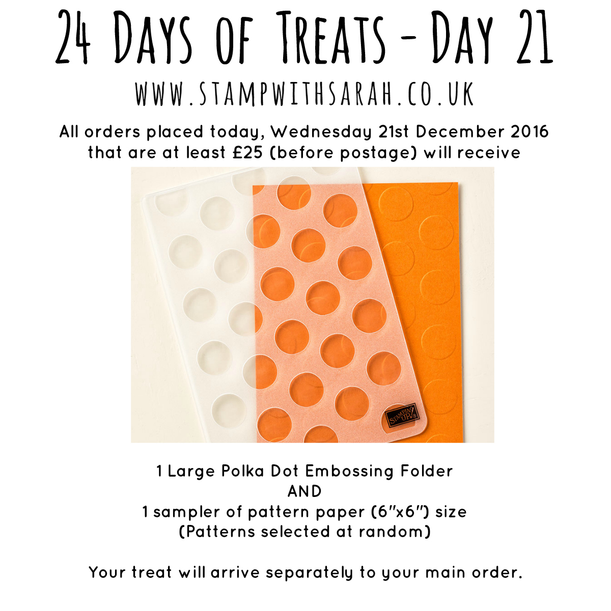 December Giveaway: Day 21 of 24 Days of Treats