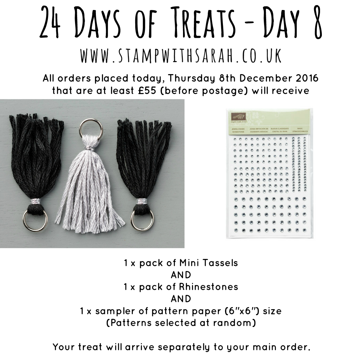 December Giveaway: Day 8 of 24 Days of Treats