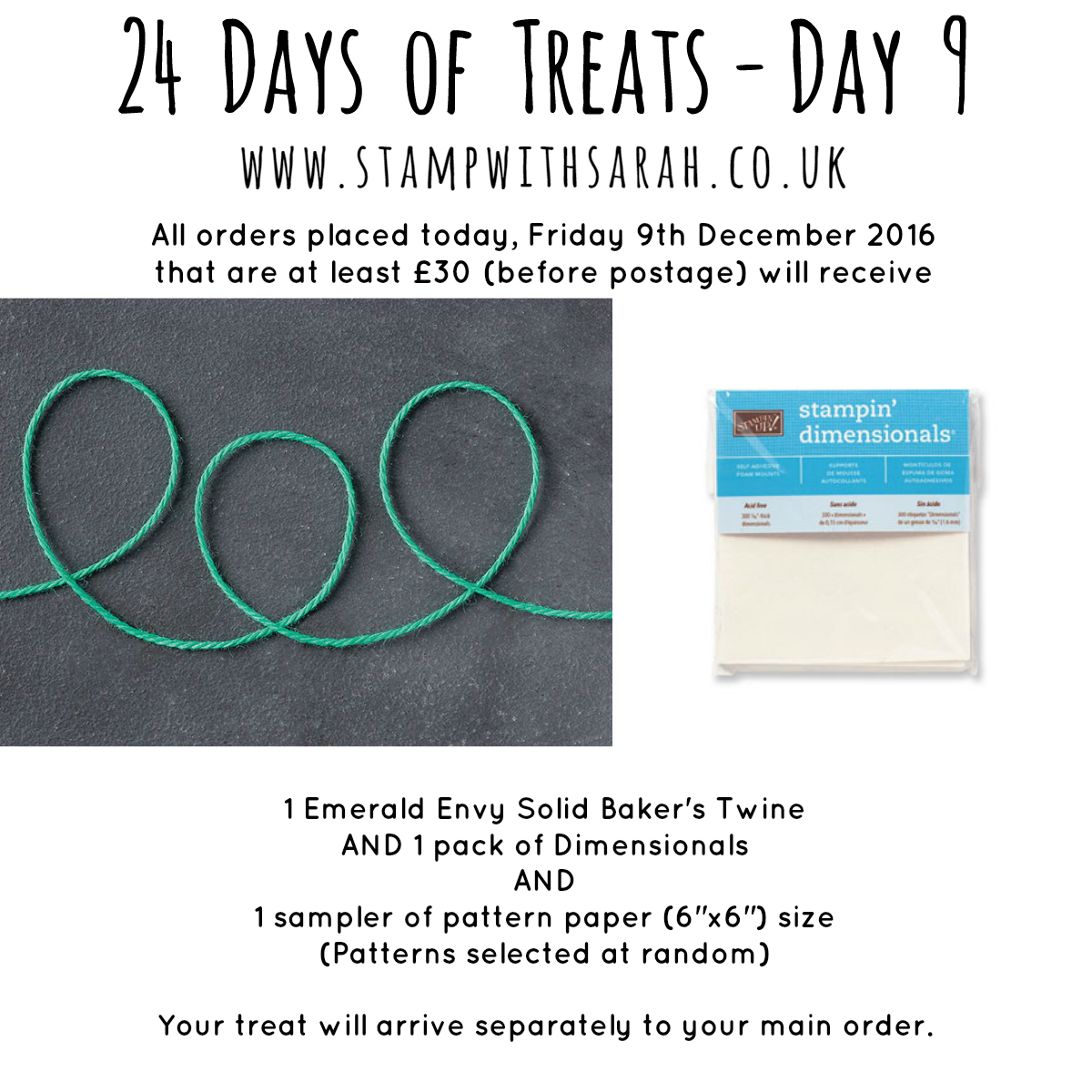 December Giveaway: Day 9 of 24 Days of Treats