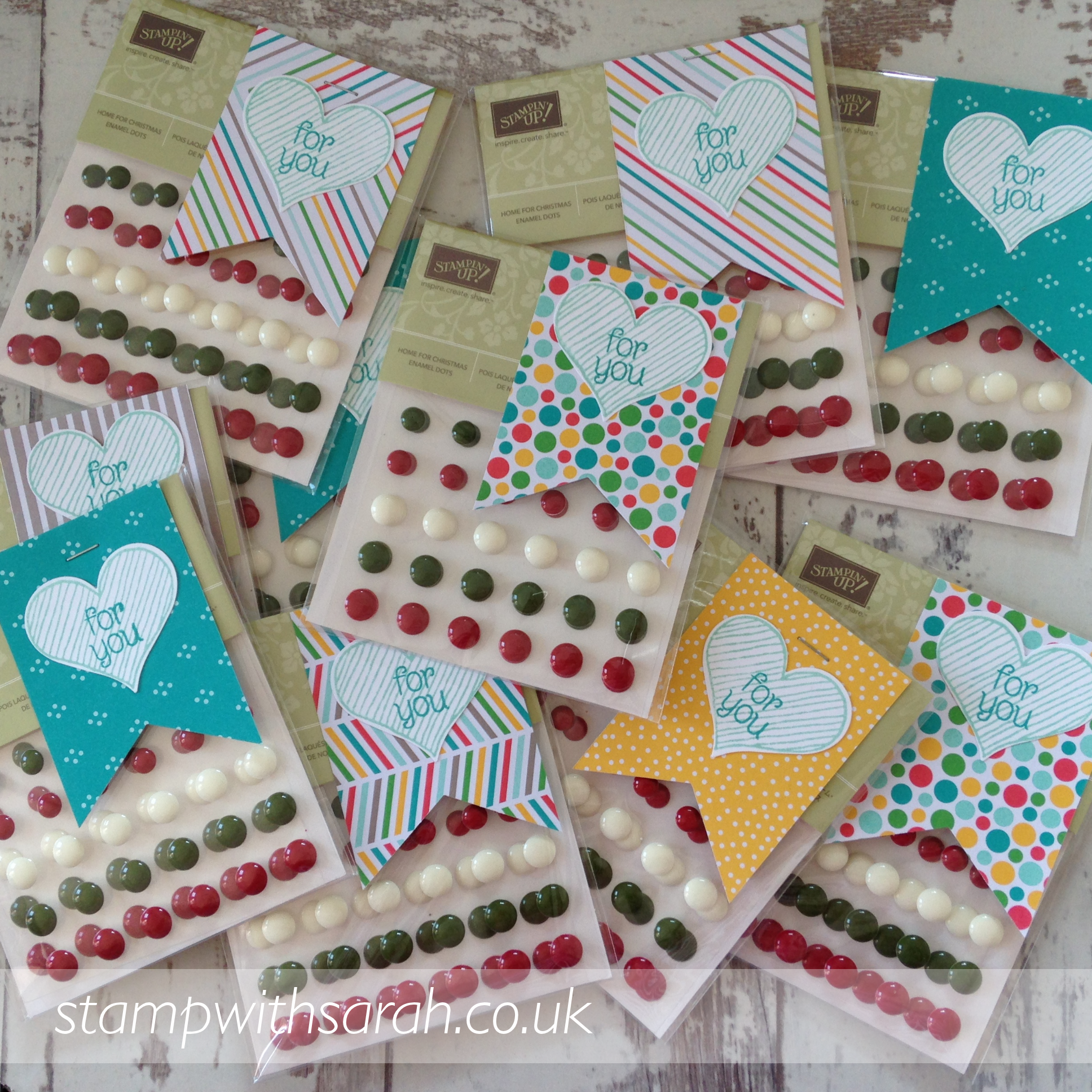 August Code Club Gifts for Stamp with Sarah customers by Stampin' Up! UK