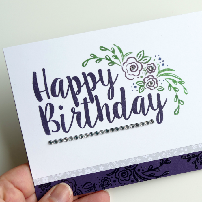 Playing with Big on Birthdays stamp set again – with video!