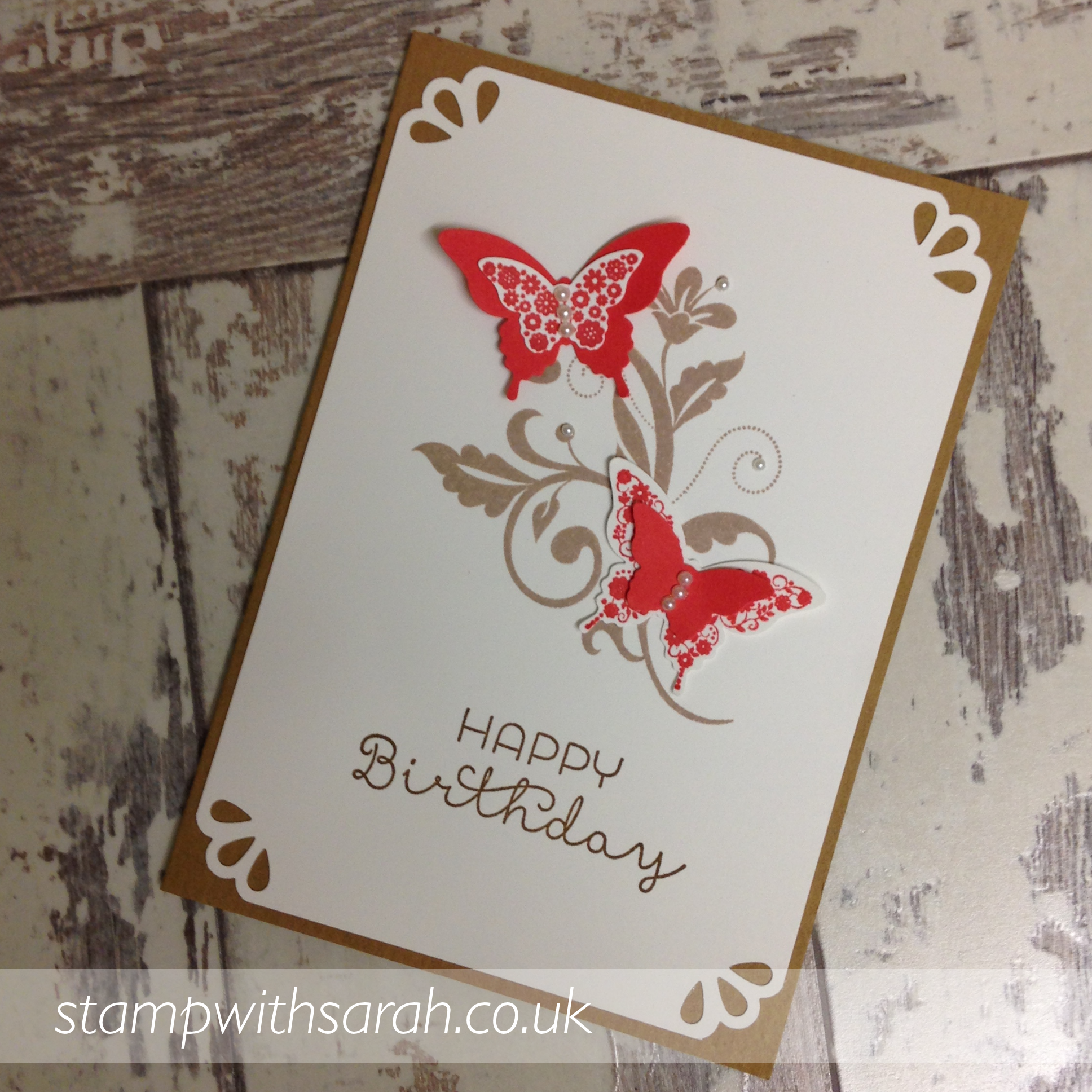 Cards made using Papilion Potpourri stamp set by Stampin' Up!