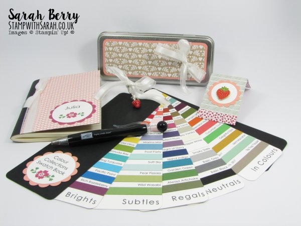 Stampin Up Demonstrator Sarah Berry New team member welcome kit