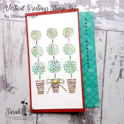 More from Vertical Greetings stamp set by Stampin' Up!