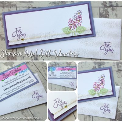 Stampin' Up! Gift Vouchers – The Perfect Present!