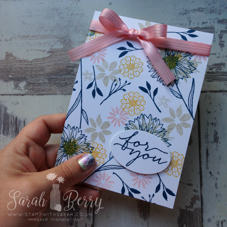 Stampin' Creative Blog Hop – Stampin' Up! On Trend