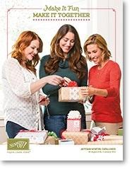 Stampin' Up! UK Stamp with Sarah Berry Autumn Winter Catalogue